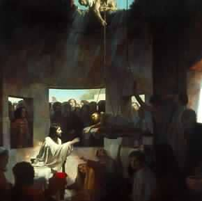 Jesus heals the paralytic 2