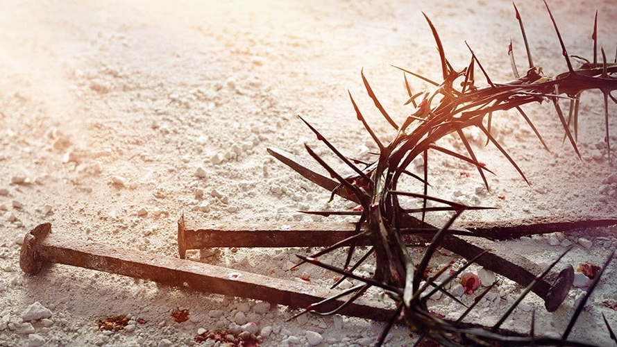Crown of Thorns and nails 2