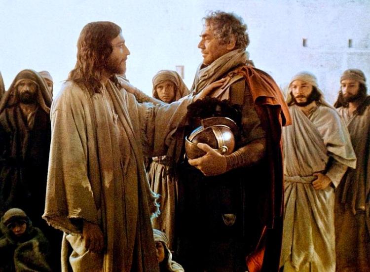 Jesus and the Roman Centurion